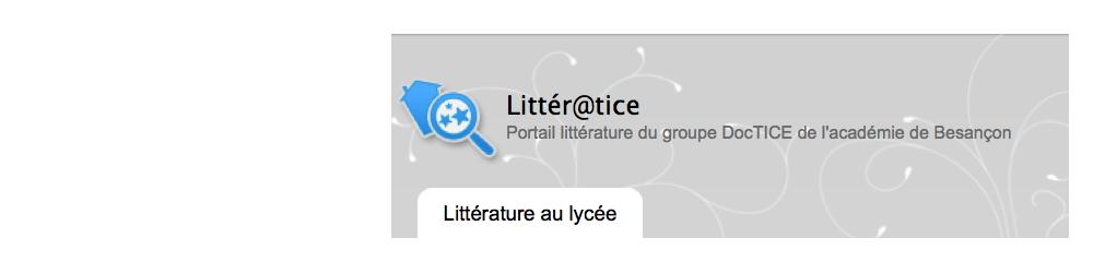 Litter@tice, kezako ?