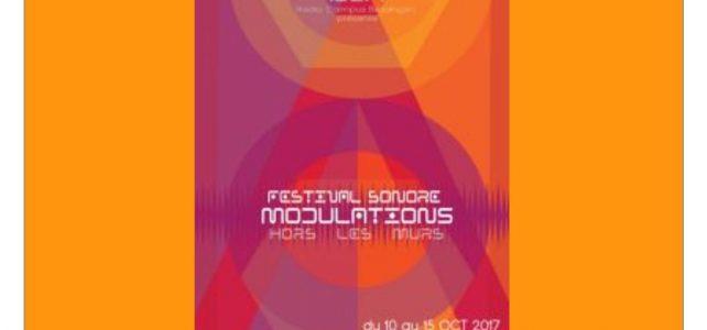 Festival sonore Modulations «Hors les murs»