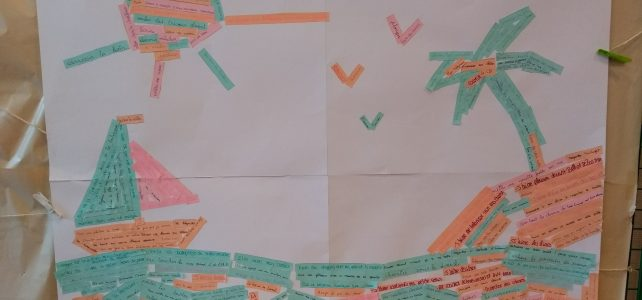 Mosaïque philosophique collaborative : identifions les petits bonheurs dans notre quotidien