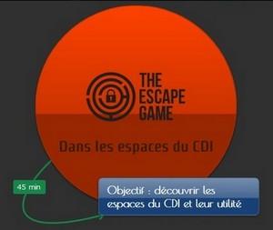 Accueil des 6° : Explorer le CDI pour s'en échapper…