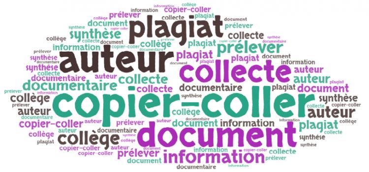 """Les collégiens et le """"copier-coller"""""""