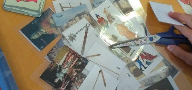 Création de jeux sérieux médiévaux