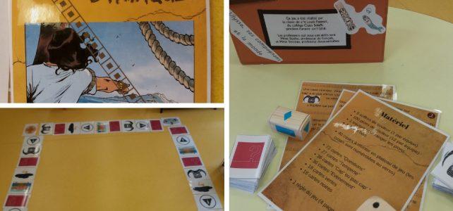 Créer un jeu de plateau avec une classe de 6ème: une Odyssée!
