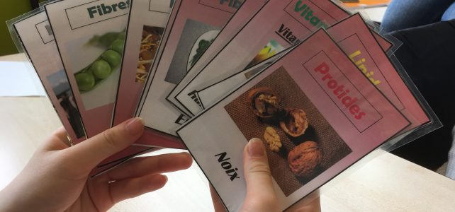 Créer des jeux pour mémoriser : et si on jouait avec la nourriture ?