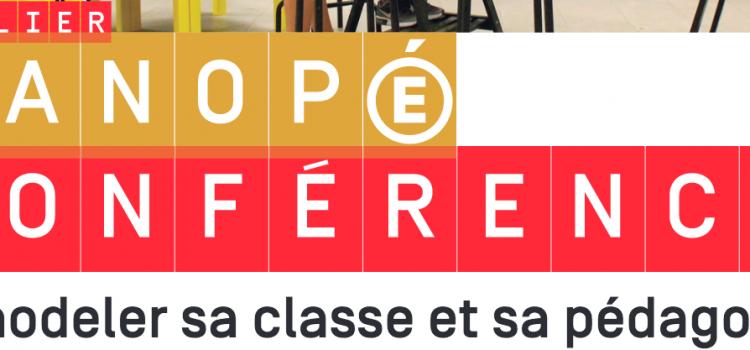 Conférence : Remodeler sa classe et sa pédagogie le 19 février