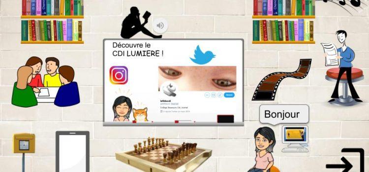 CDI virtuel : présenter en ligne les activités du CDI